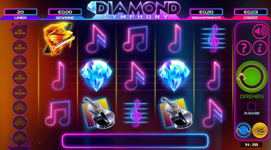 Diamond Symphony von Bulletproof Games