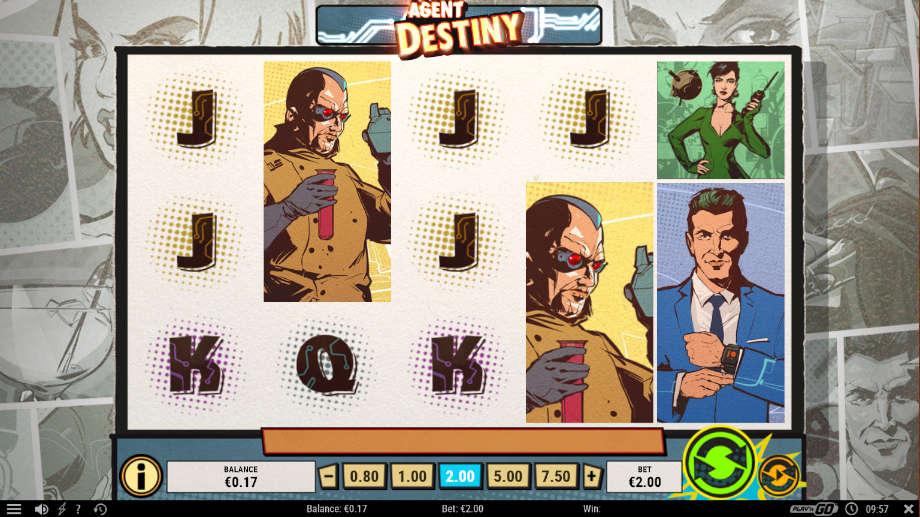 Agent Destiny von Play'n GO