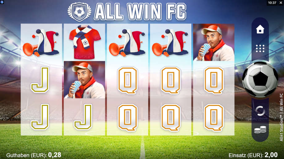 All Win FC von Microgaming