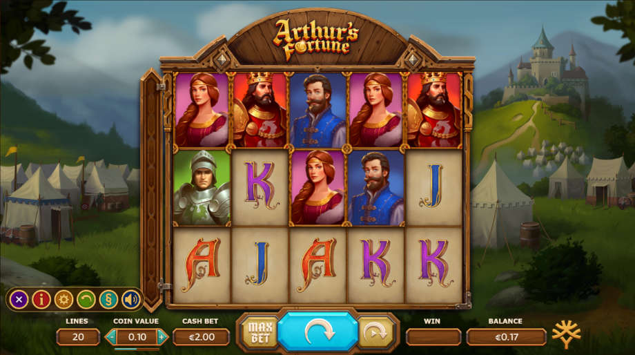 Arthur's Fortune von Yggdrasil