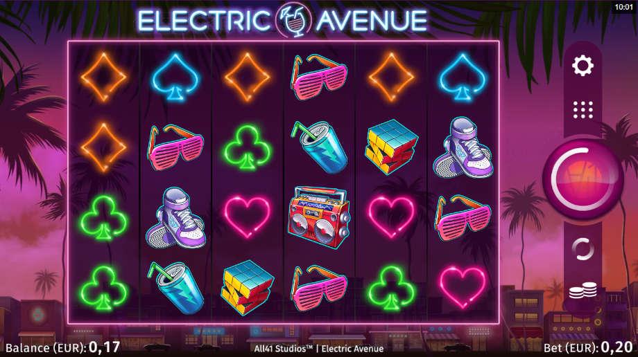 Electric Avenue von Microgaming