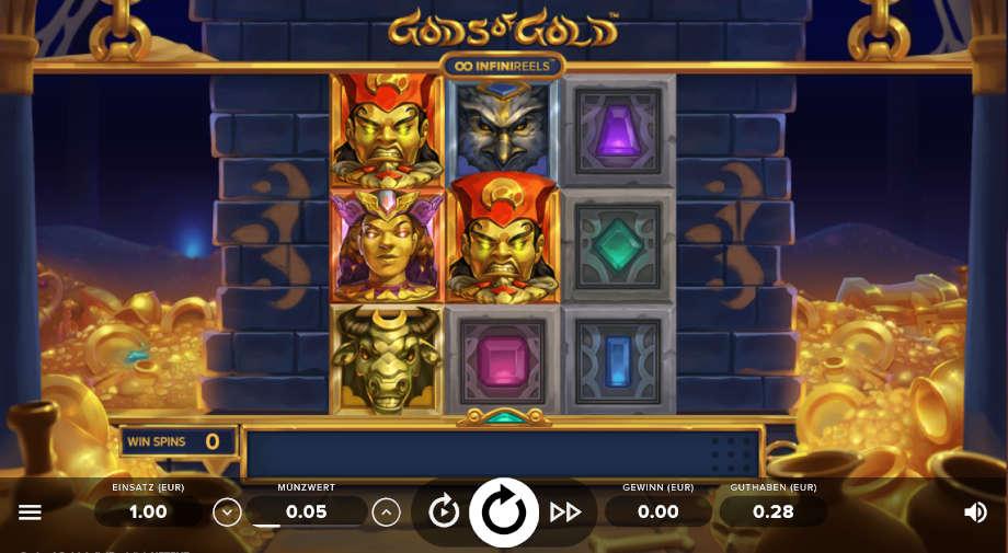 Gods of Gold von NetEnt
