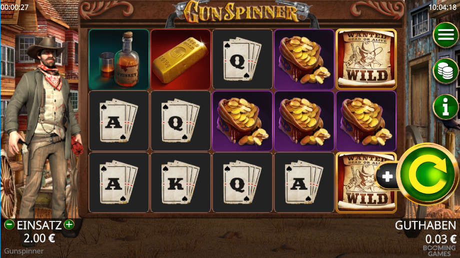 Gun Spinner von Booming Games