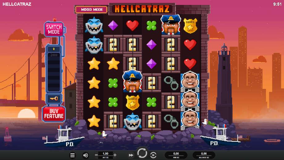 Hellcatraz von Relax Gaming