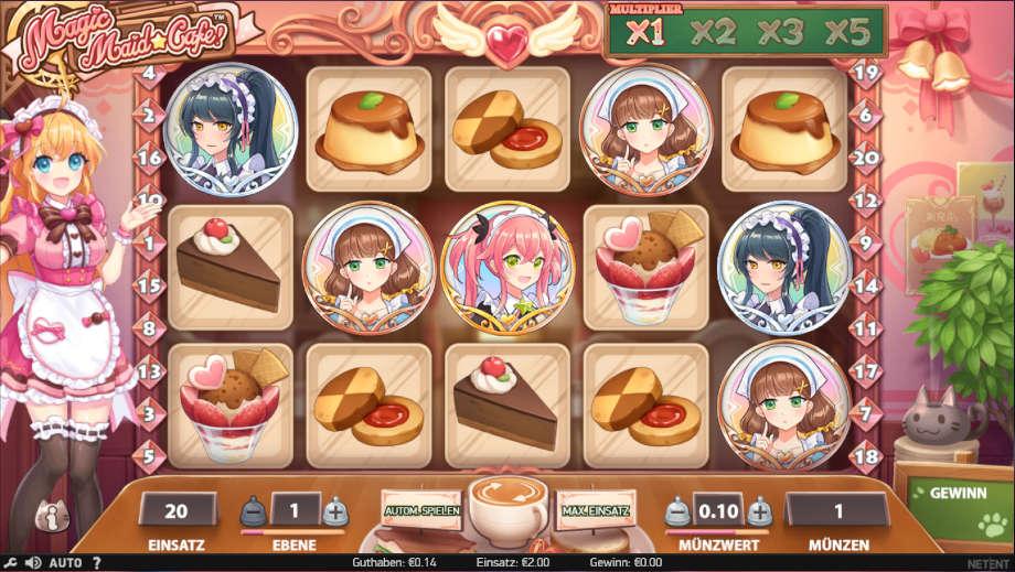 Magic Maid Cafe! von NetEnt