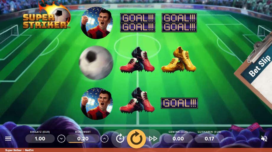 Super Striker von NetEnt