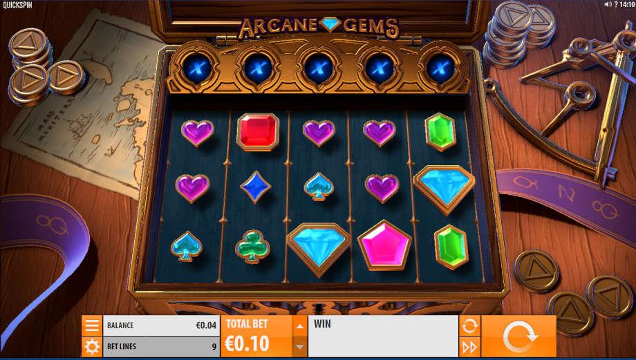 Arcane Gems von Quickspin
