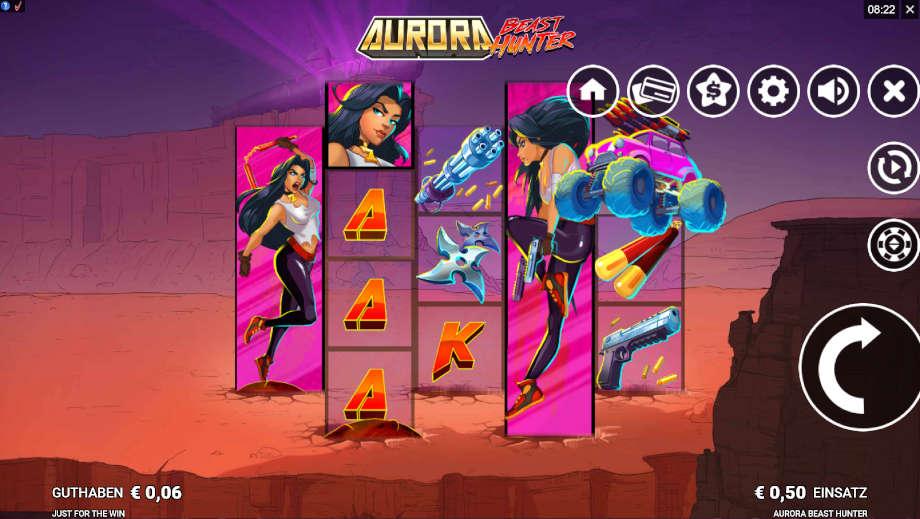 Aurora Best Hunter von Microgaming