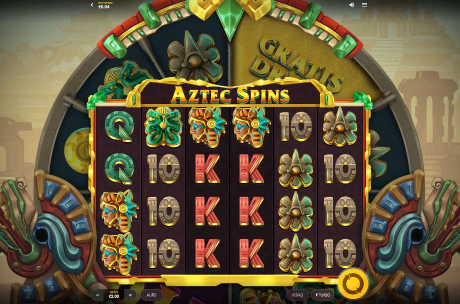 Aztec Spins von Red Tiger