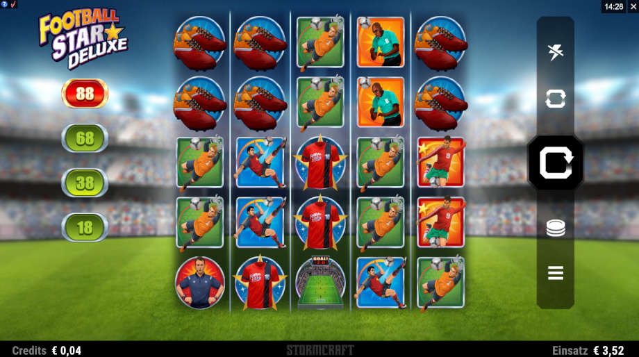 Football Star Deluxe von Microgaming