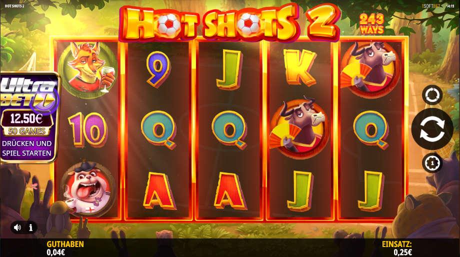 Hot Shots 2 von iSoftBet