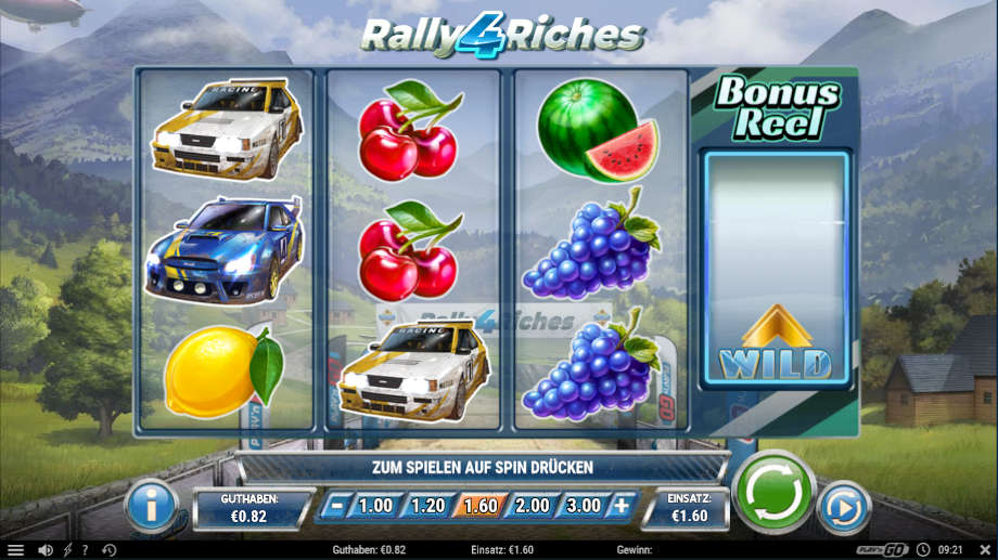Rally 4 Riches von Play'n GO