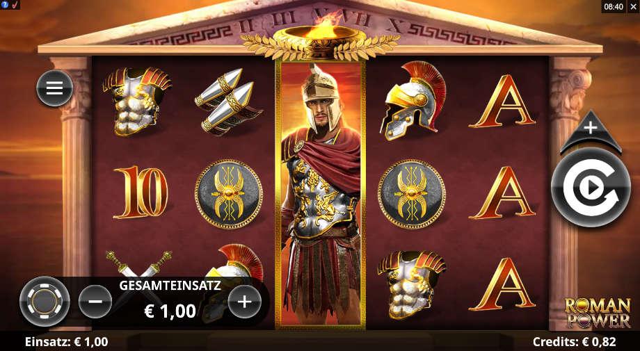 Roman Power von Microgaming