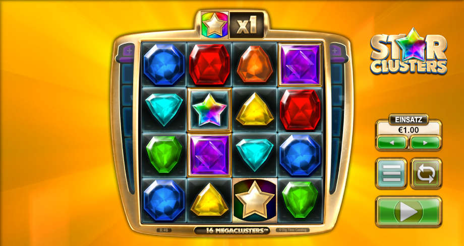 Star Clusters von Big Time Gaming