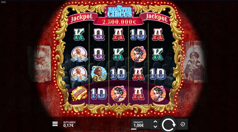 The Haunted Circus von Hacksaw Gaming