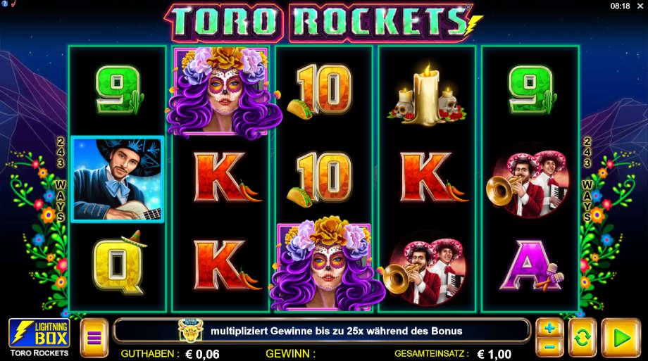 Toro Rockets von Lightning Box