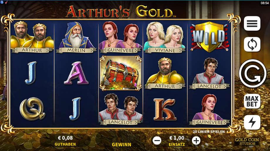 Arthur's Gold von Microgaming