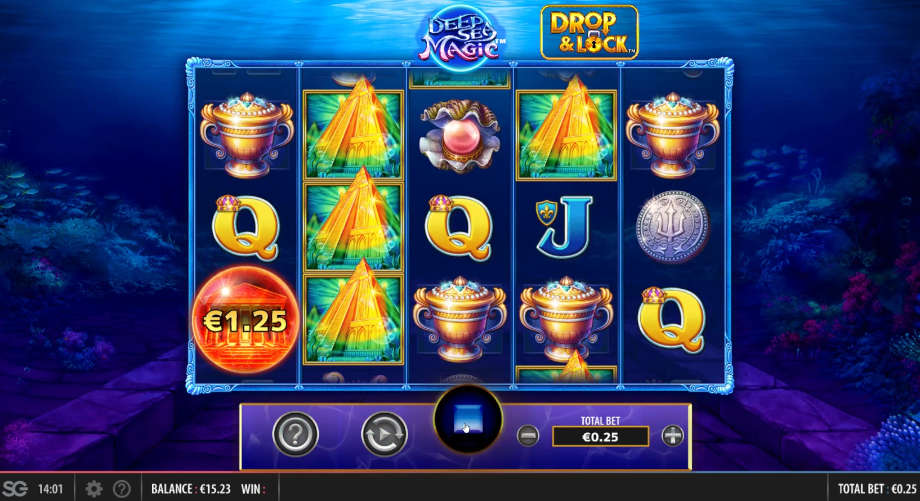 Deep Sea Magic Drop & Lock von SG Digital