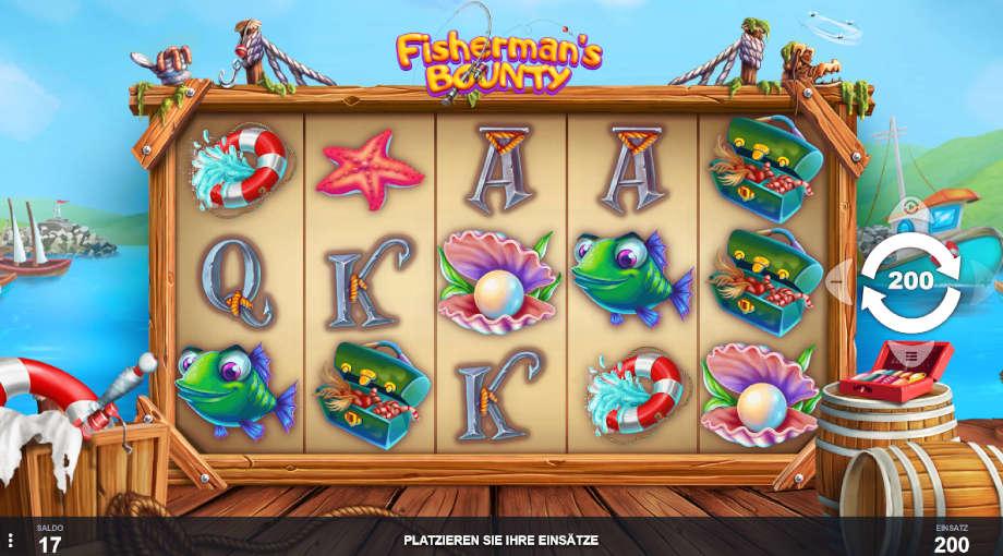 Fisherman's Bounty von Pariplay