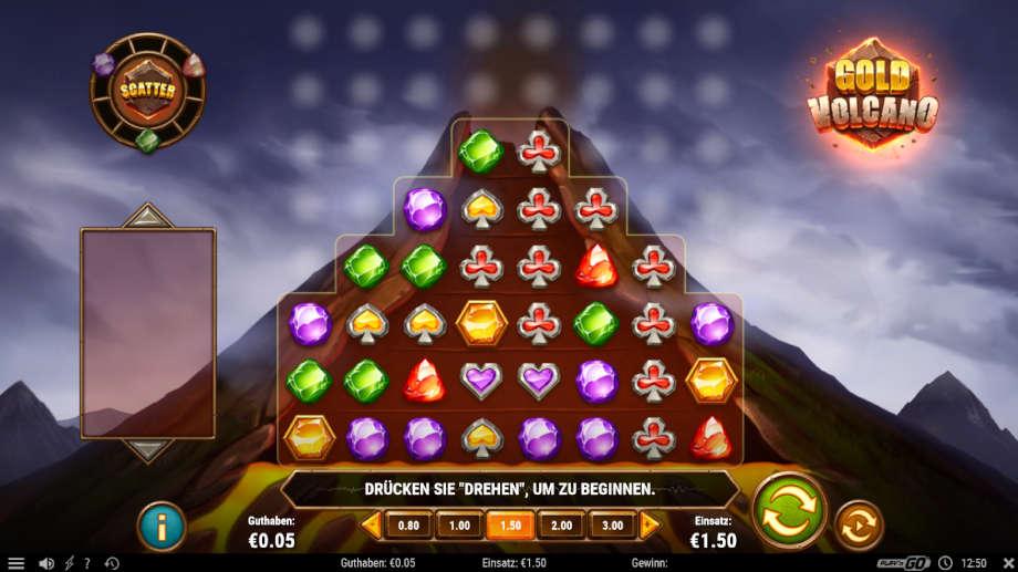 Gold Volcano von Play'n GO