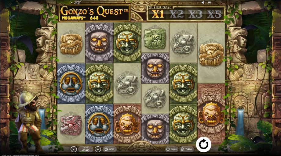 Gonzo's Quest von NetEnt