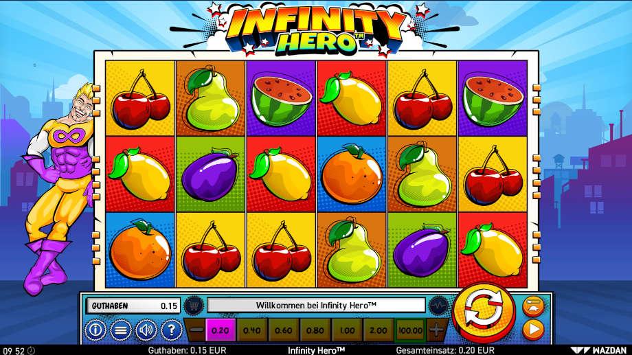 Infinity Hero von Wazdan