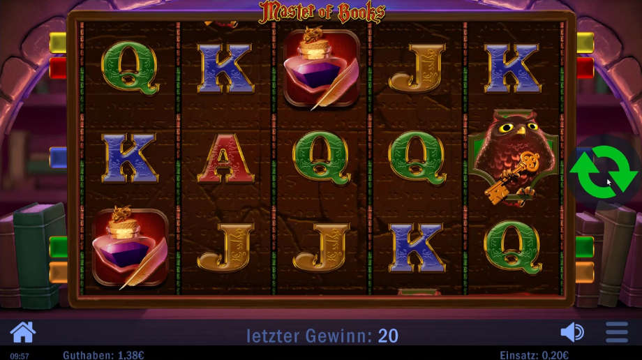 Master of Books von Swintt Games