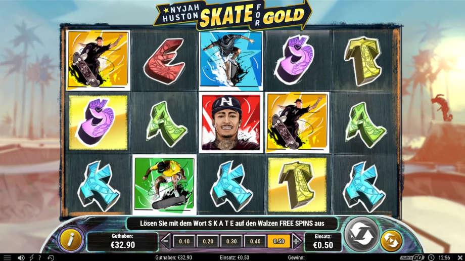 Nyjah Huston - Skate for Gold von Play'n GO