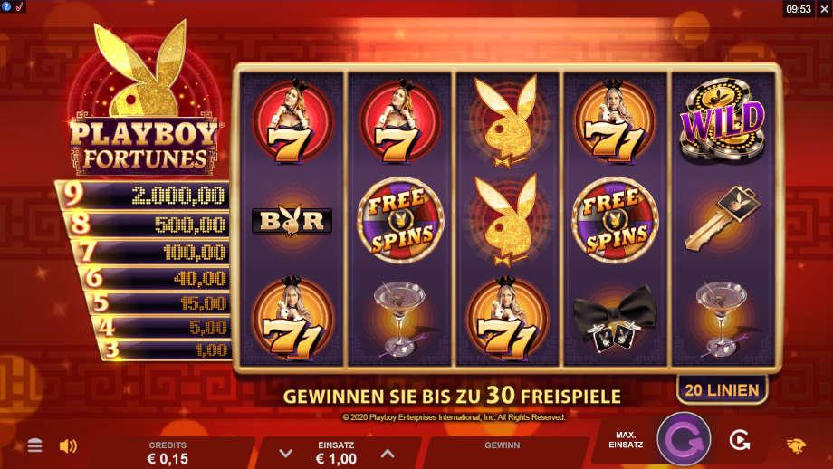 Playboy Fortunes von Gamesburger Studios