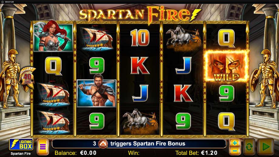 Spartan Fire von Lightning Box