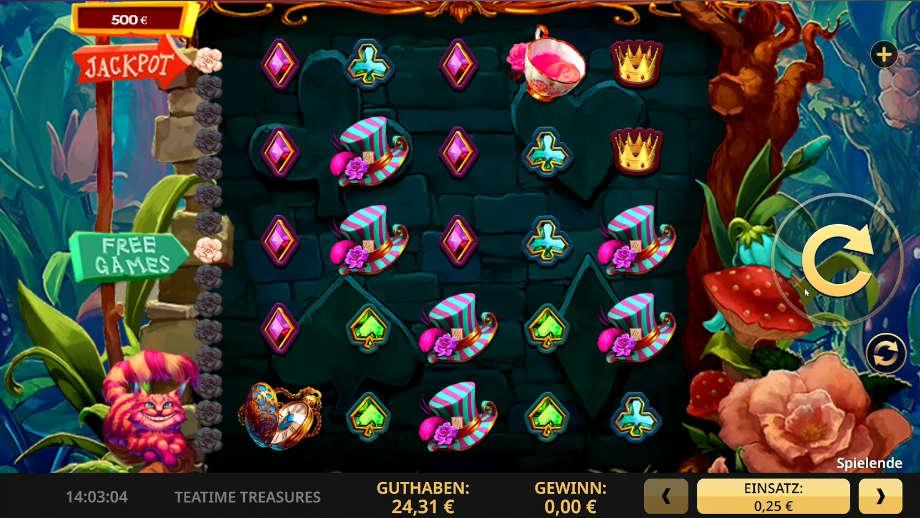 Teatime Treasures von High 5 Games