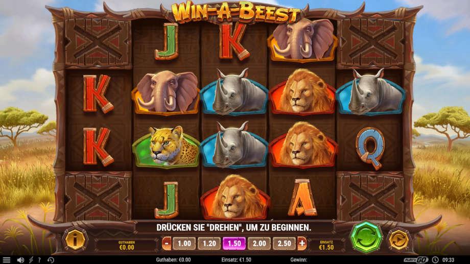 Win a Beest von Play'n GO