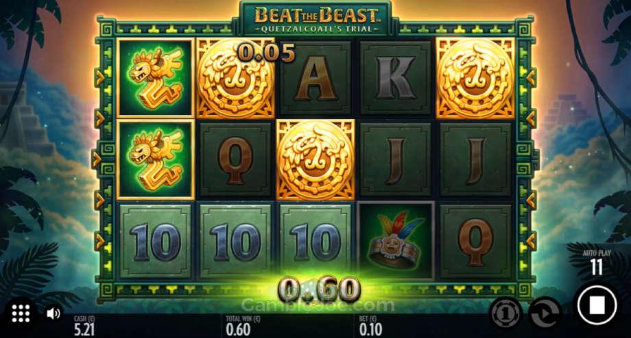 Beat the Beast: Quetzalcoatl's Trial von Thunderkick