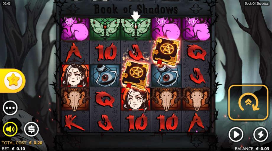 Book of Shadows von Nolimit City