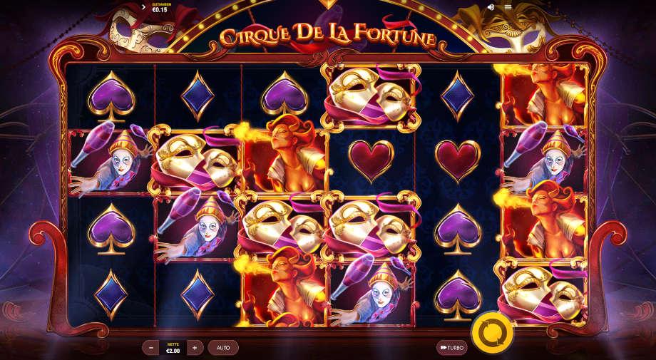 Cirque De La Fortune von Red Tiger