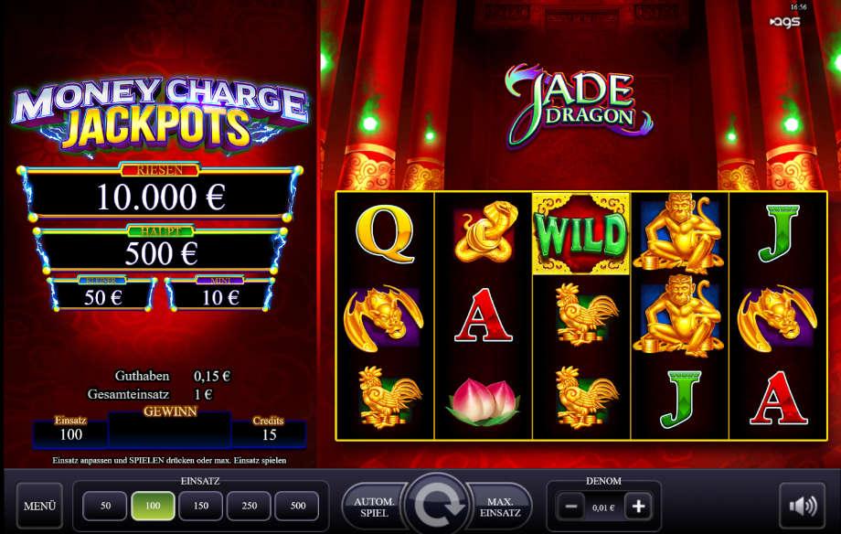 Jade Dragon von Relax Gaming
