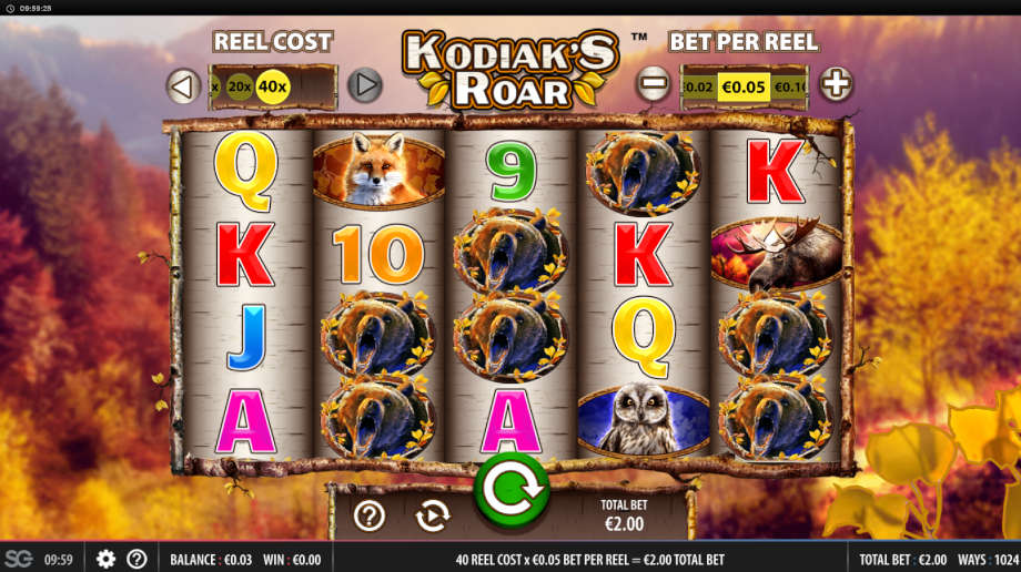 Kodiak's Roar von WMS