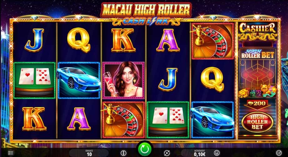 Macau High Roller Cash Link von iSoftBet