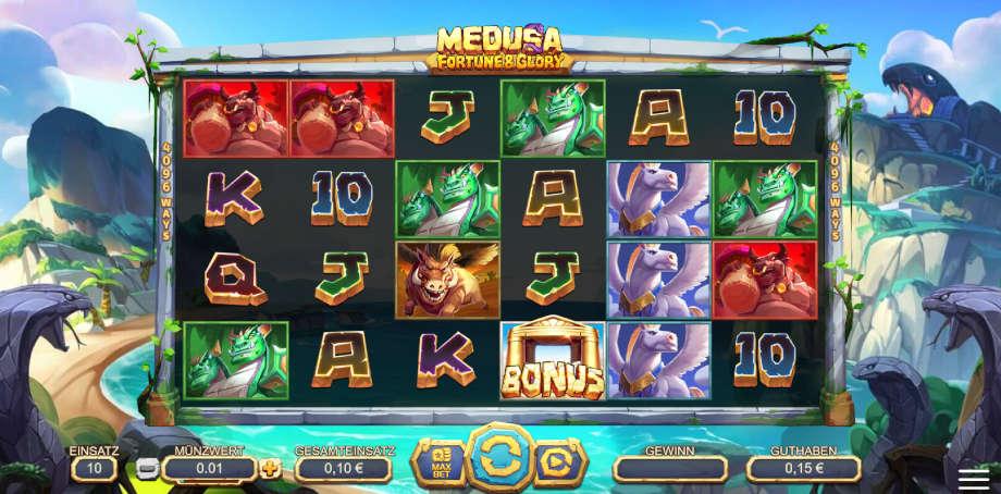 Medusa Fortune and Glory von Yggdrasil