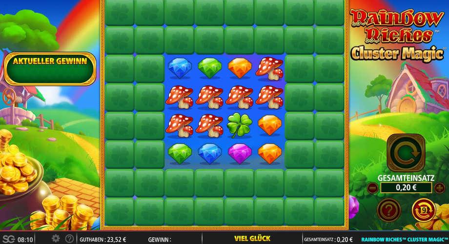 Rainbow Riches Cluster Magic von SG