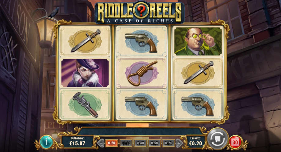 Riddle Reels: A Case of Riches von Play'n GO