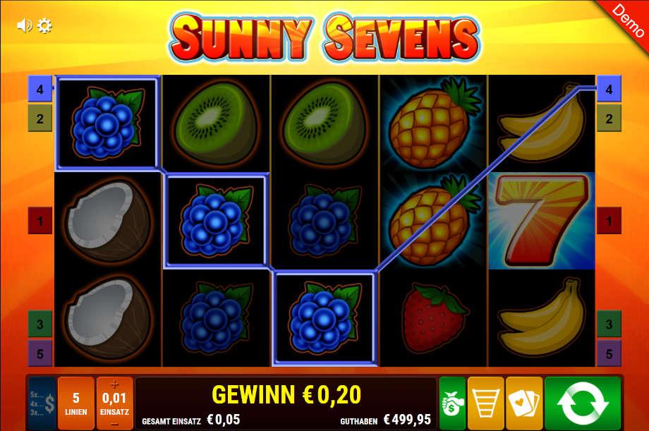 Sunny Sevens von Bally Wulff