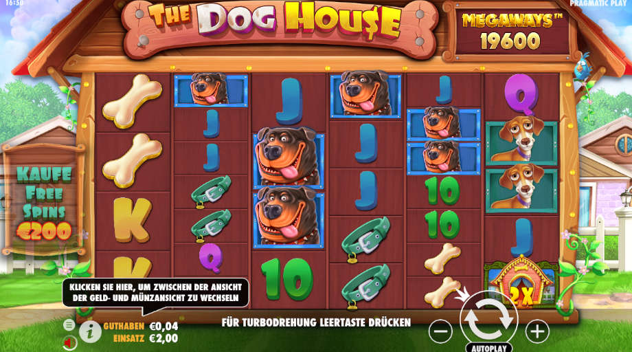 The Dog House Megaways von Pragmatic Play