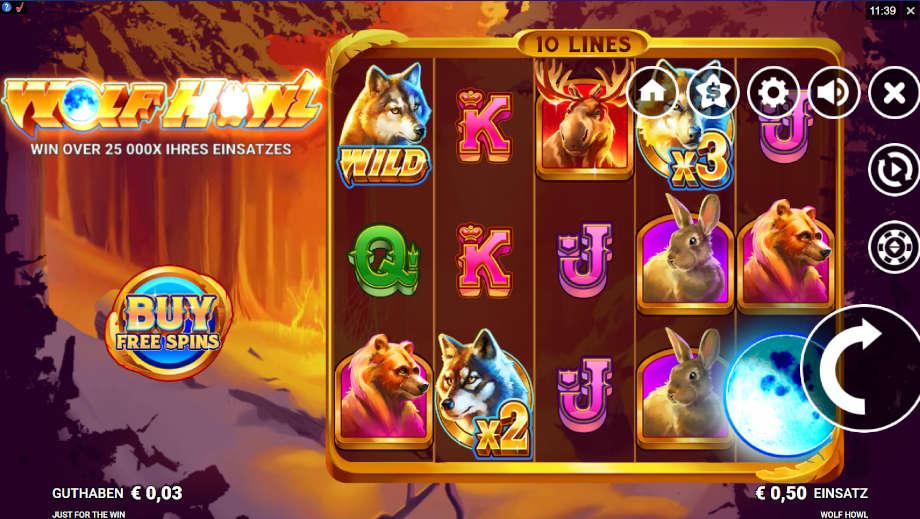 Wolf Howl von Just fort he Win