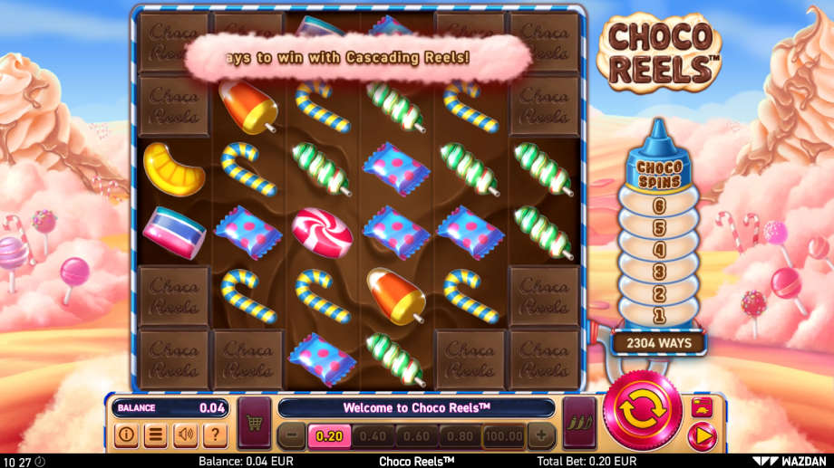 Choco Reels von Wazdan