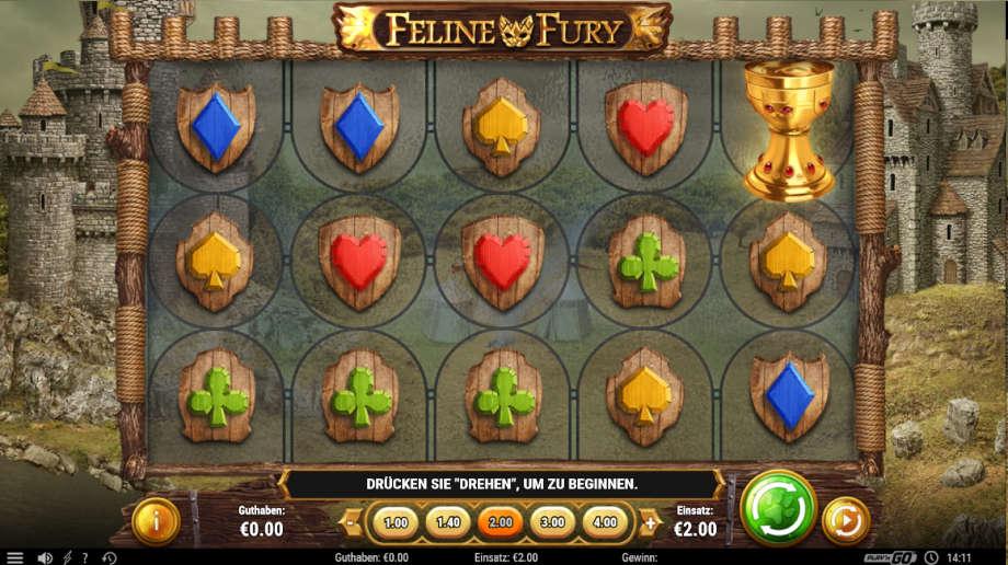 Feline Fury von Play'n GO