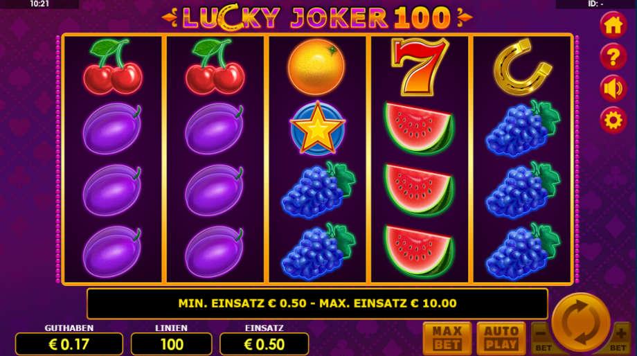 Lucky Joker 100 von Amatic