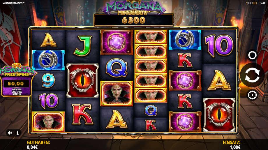 Morgana Megaways von iSoftBet