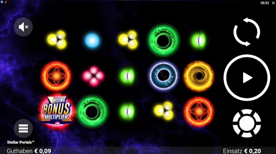 Stellar Portals von Microgaming