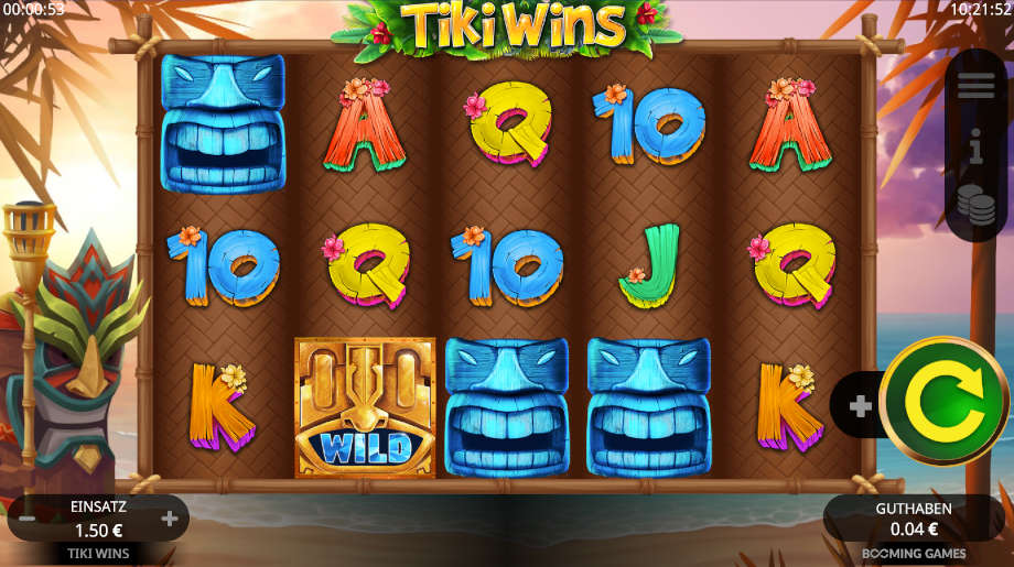 Tiki Wins von Booming Games